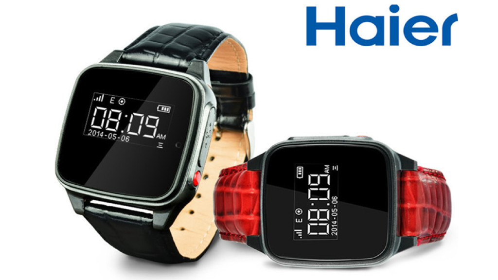 haier smartwatch f r kinder senioren computer bild. Black Bedroom Furniture Sets. Home Design Ideas