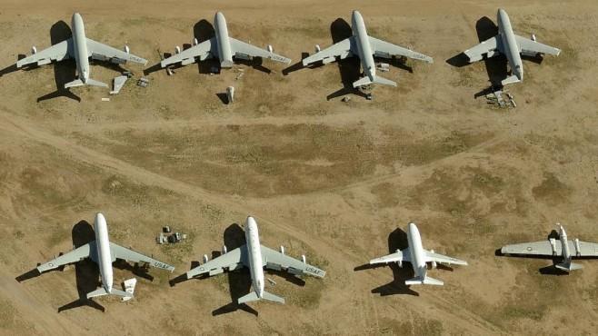 Der Flugzeug-Friedhof der Superlative ©COMPUTER BILD