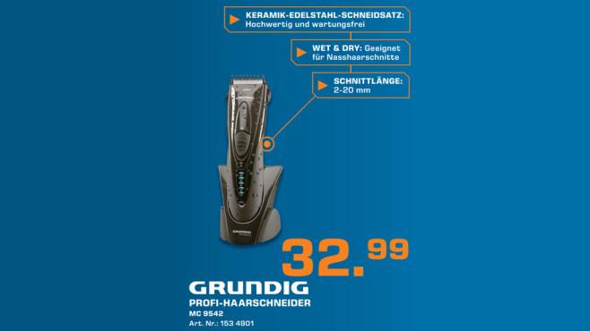 Haarschneider: Grundig MC 9542 ©Saturn