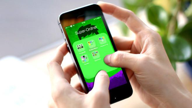 iOS 8.1: Überordner erstellen ©Line – fotolia.com