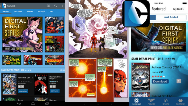 DC Comics © comiXology