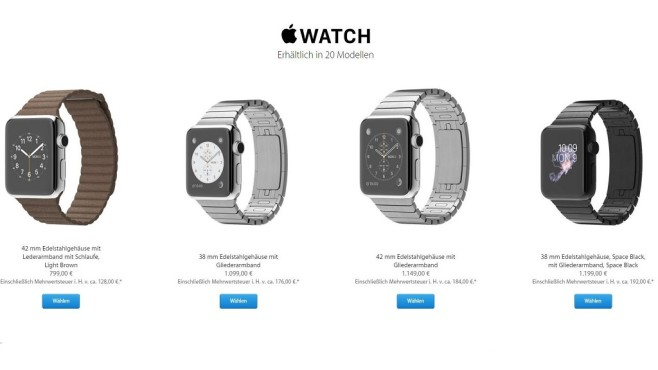 Apple Watch kaufen © Apple