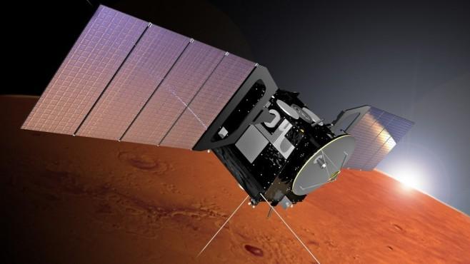 ESA-Sonde Mars Express ©ESA / Alex Lutkus