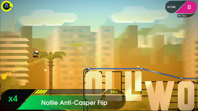 Olliolli 2 – Welcome to Olliwood © Roll7