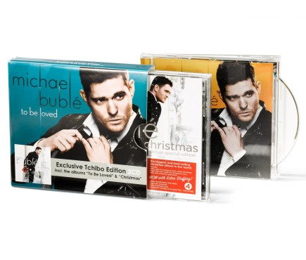 """Michael Bublé – To Be Loved & Christmas"" Doppel-CD © Tchibo"