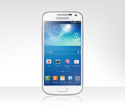 Samsung Galaxy S4 mini ©Tchibo