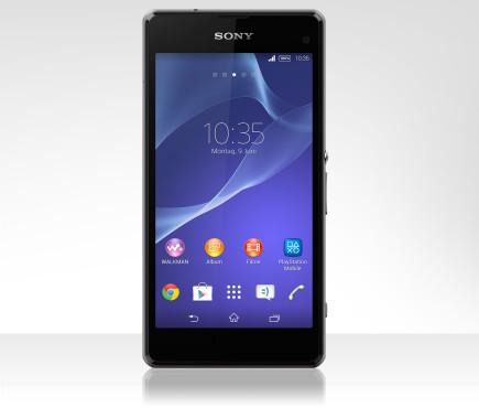 Sony Xperia Z1 Compact ©Tchibo