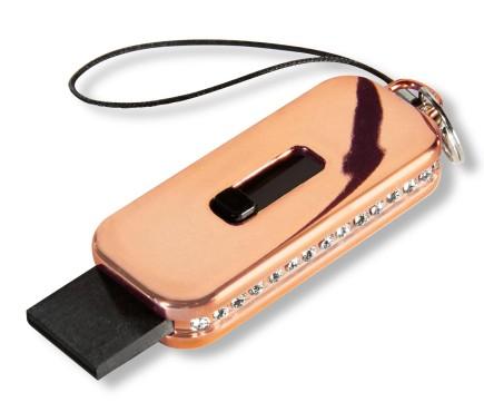 USB-Stick mit Swarovski-Steinen ©Tchibo