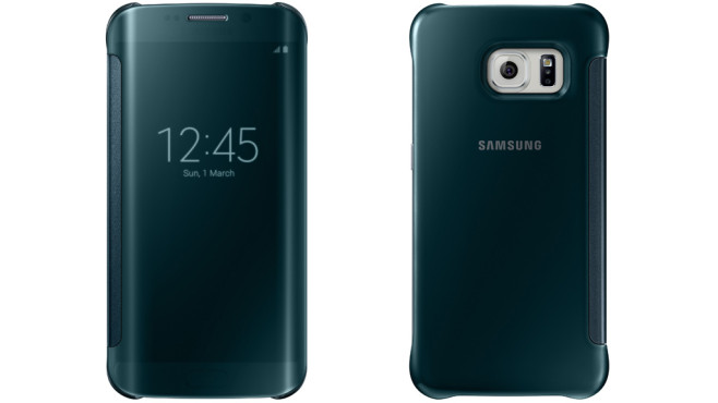 Galaxy S6 Edge: Clear View Cover © Samsung