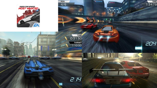 Need for Speed – Most Wanted © Electronic Arts Inc.