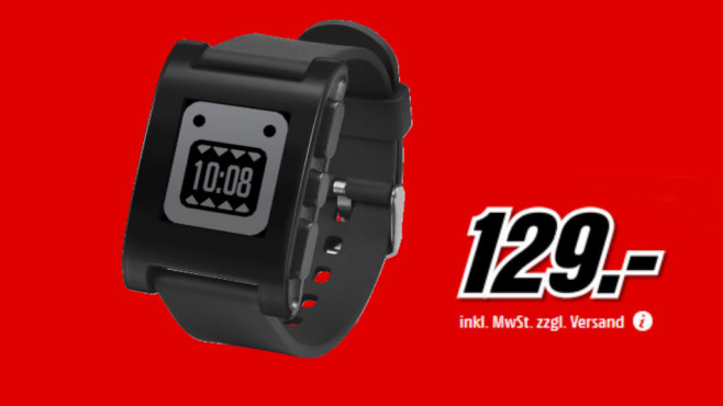 Pebble Smart Watch © Media Markt