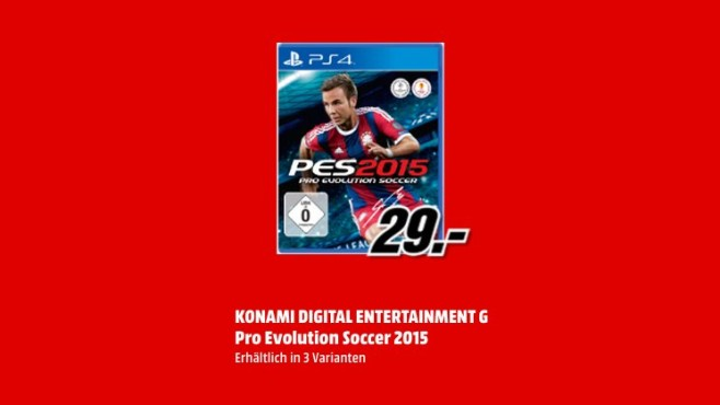 Pro Evolution Soccer 2015 (PS4) © Media Markt