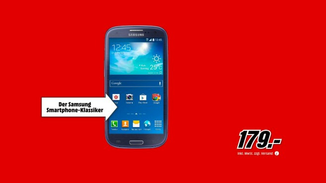 Samsung Galaxy S3 © Media Markt