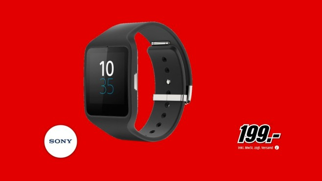 Sony SmartWatch 3 © Media Markt