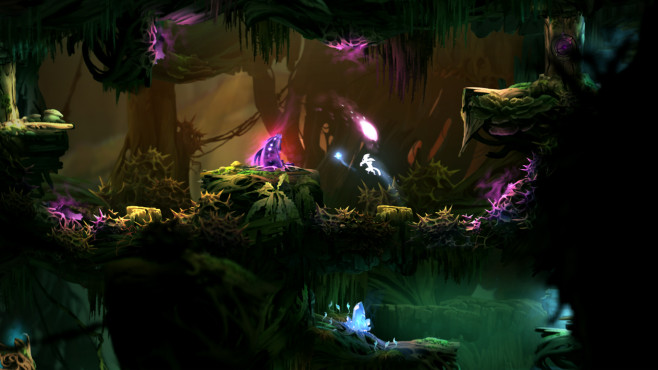 Bilder: Ori and the Blind Forest © Microsoft