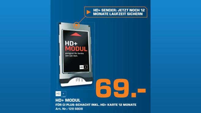 Astra HD+ CI+ Modul ©Saturn