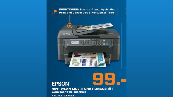 Epson WorkForce WF-2650DWF © Saturn