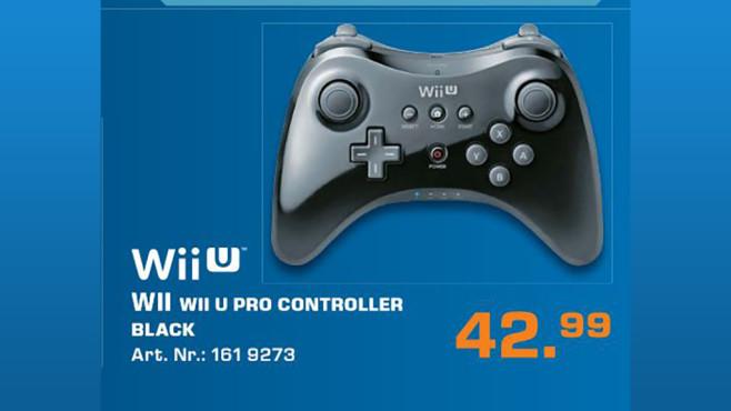 Nintendo Wii U Pro Controller ©Saturn