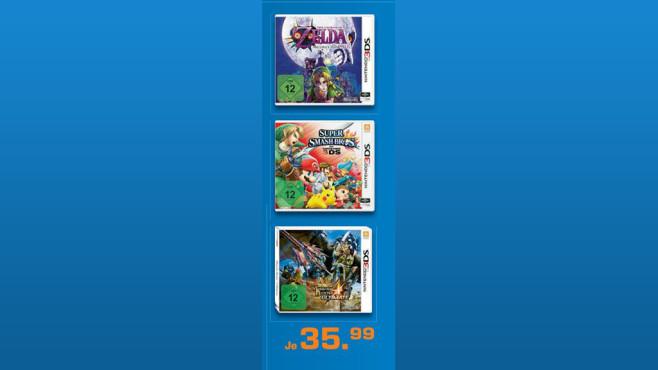 Spiele für Nintendo 3DS ©Saturn
