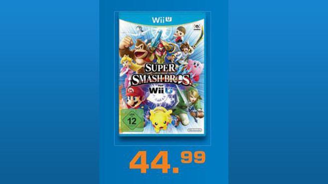 "Wii U Spiel ""Super Smash Bros"" © Saturn"