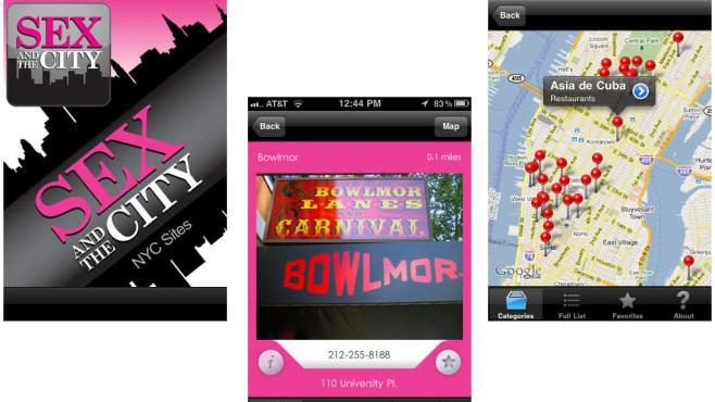 Sex and the City NYC Sites ©Allan Ishac LLC