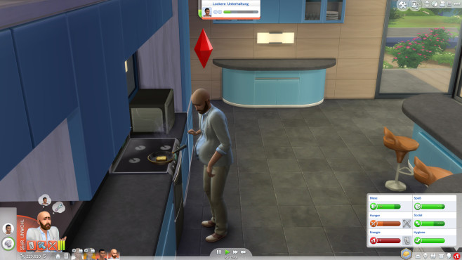 Sims 4 - An die Arbeit © Electronic Arts
