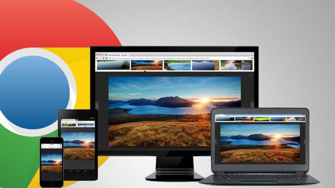 Chrome 42 im Praxis-Test ©Google