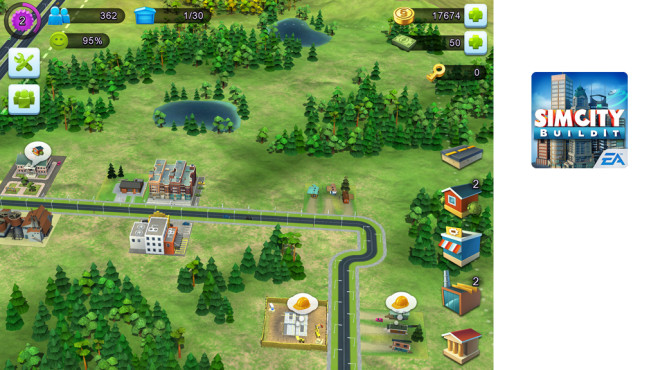 SimCity BuildIt © ELECTRONIC ARTS