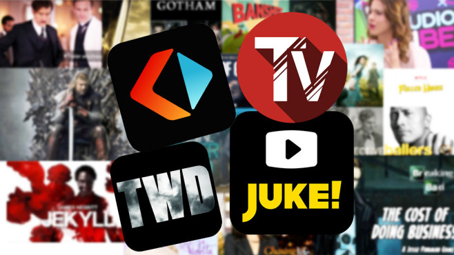 Apps für Serienfans © FEMA, Juke Entertainment GmbH, AMC Network Entertainment LLC, RTL interactive GmbH