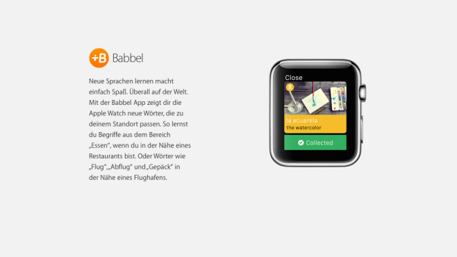 Babbel © Apple