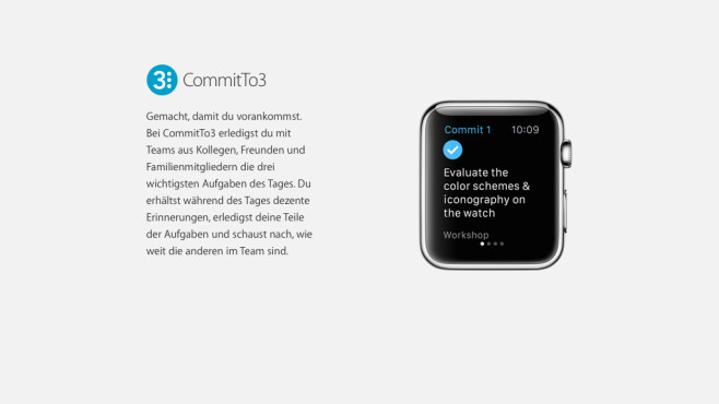 CommitTo3 © Apple
