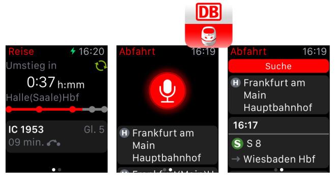 DB Navigator ©Deutsche Bahn AG