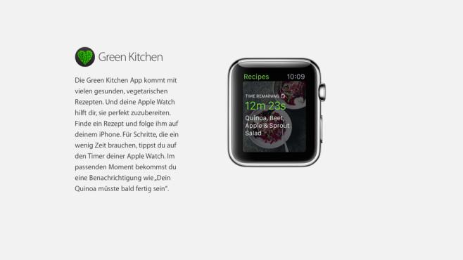 Green Kitchen – gesunde vegetarische Rezepte ©Apple