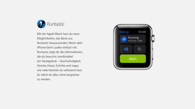 Runtastic © Apple