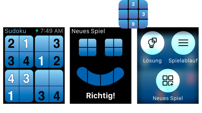 Wrist Sudoku ©Mobilica