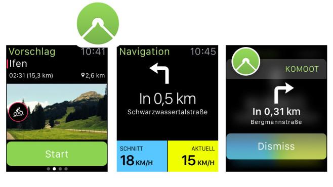 komoot � Fahrrad & Outdoor Routenplaner ©komoot GmbH
