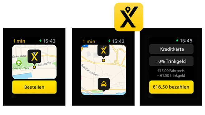 mytaxi – Die Taxi App © Intelligent Apps GmbH