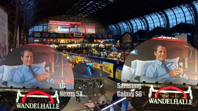 Fotovergleich Nexus 5X vs Galaxy S6 ©COMPUTER BILD