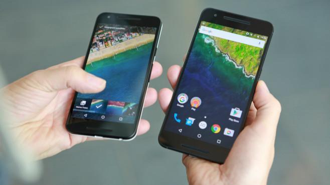 LG Google Nexus 5X Nexus 6P ©COMPUTER BILD