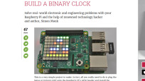 Bling-Bling: Raspberry Pi als Bin�r-Uhr ©raspberrypi-org � Screenshot