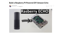 Raspberry Echo: Amazon Echo im Eigenbau © Novaspirit Tech via YouTube � Screenshot