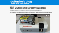 Raspberry Pi Mini NES Classic Console: Retro-Zocker-Traum! © daftmike.com / Screenshot