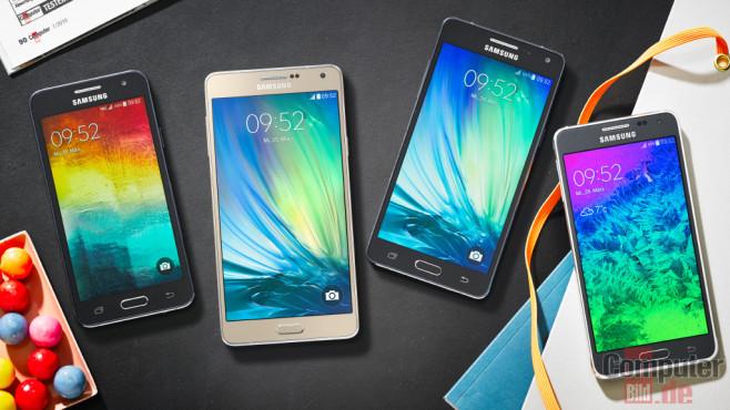 Samsung Galaxy A-Klasse ©COMPUTER BILD