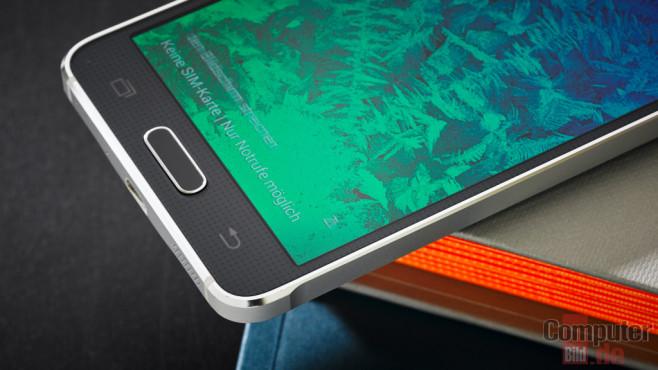 Samsung Galaxy Alpha ©COMPUTER BILD