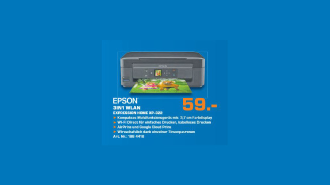 Epson Expression Home XP-322 © Saturn