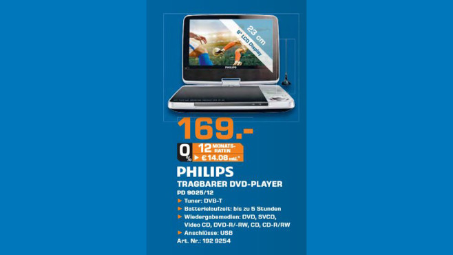 Philips PD9025 © Saturn