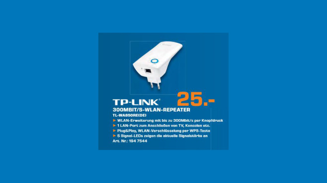 TP-LINK TL-850RE © Saturn