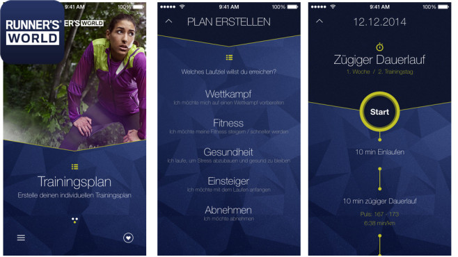 Runner's world Lauftrainer ©Rodale-Motor-Presse GmbH & Co