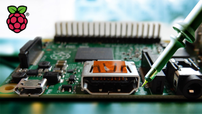 Raspberry-Pi-Projekte © science photo - Fotolia.com, Raspberry Pi Foundation