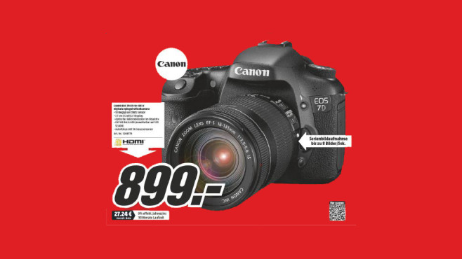 Canon EOS 7D Kit 18-135 mm © Media Markt